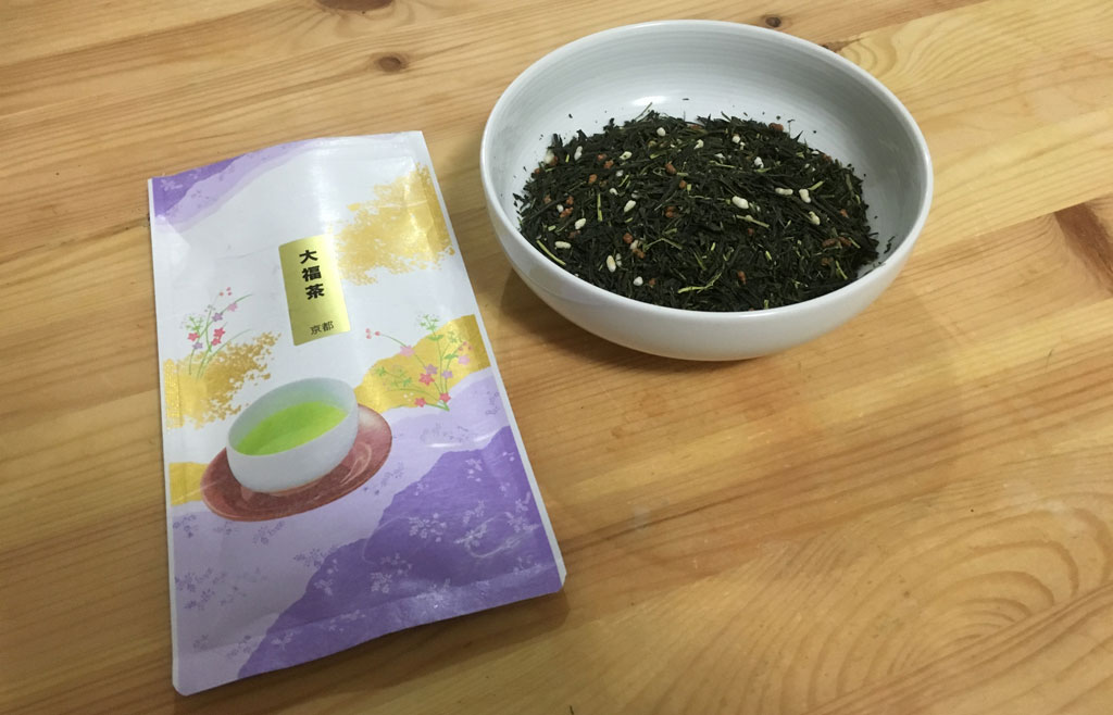 Genmaicha in Tomotcha package
